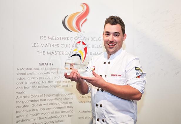 Sam van Houcke-Lauréat Etoile de la Cuisine Belge © Claudio Centonze 0I3C2166-B640